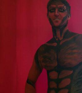 Bodypaint model mand