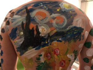 Starry Night bodypaint