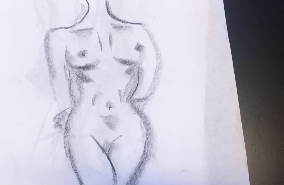 Croquis kvinde